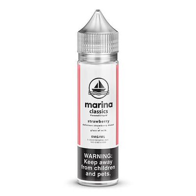 Marina Classics - Strawberry Donut-eJuice-Marina Vape-60ml-0mg-eJuices.com