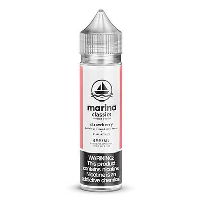 Marina Classics - Strawberry Donut-eJuice-Marina Vape-60ml-6mg-eJuices.com
