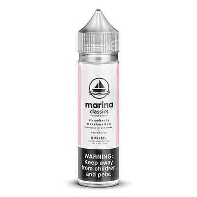 Marina Classics - Strawberry Marshmallow-eJuice-Marina Vape-60ml-0mg-eJuices.com