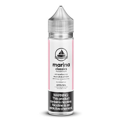 Marina Classics - Strawberry Marshmallow-eJuice-Marina Vape-60ml-6mg-eJuices.com