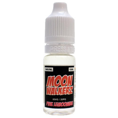 Moonwalkerz E-Liquid - Pink Lemoonade - 10ml / 0mg