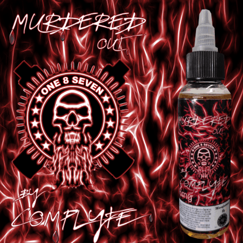 Murdered Out by Comp Lyfe - One 8 Seven - The Best Place to buy eJuice - eJuices.com