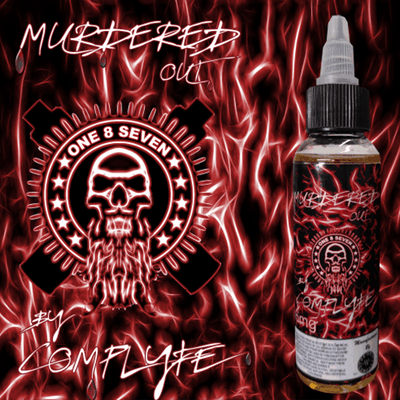 Murdered Out by Comp Lyfe - One 8 Seven-eJuice-Murdered Out by Comp Lyfe-eJuices.com