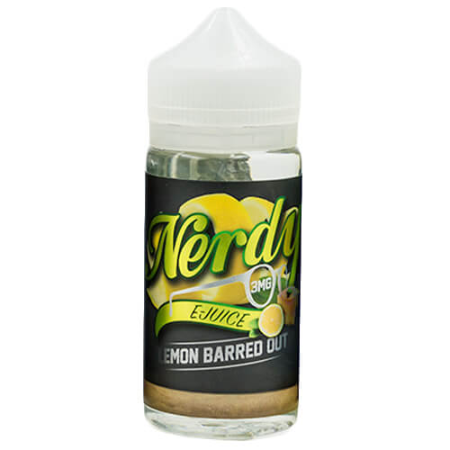Nerdy E-Juice - Lemon Barred Out - 100ml / 3mg