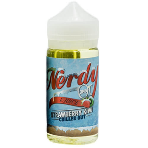 Nerdy E-Juice - Strawberry Kiwi Chilled Out - 100ml / 6mg