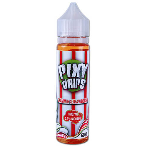 Pixy Drips E-Juice - Slammin Strawberry - 60ml / 0mg
