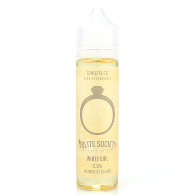 Polite Society E-Liquid - White Girl-eJuice-Polite Society-60ml-0mg-eJuices.com