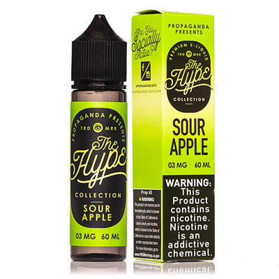 Propaganda E-Liquid The Hype Collection - Sour Apple-eJuice-Propaganda-60ml-0mg-eJuices.com