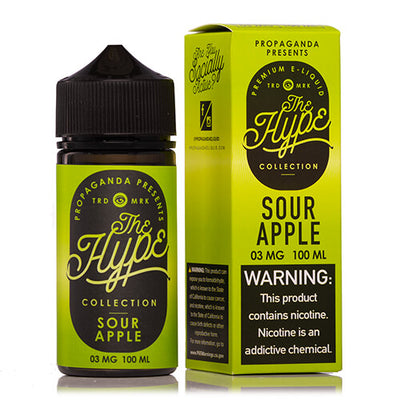 Propaganda E-Liquid The Hype Collection - Sour Apple-eJuice-Propaganda-100ml-0mg-eJuices.com
