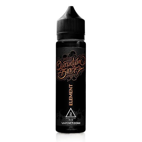 Quantum Black - Element eJuice - 60ml / 6mg