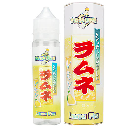 Ramune - Lemon Fizz eJuice - 60ml / 0mg