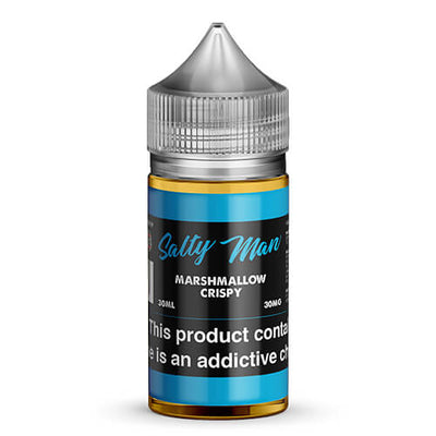 Salty Man Vapor eJuice - Marshmallow Crispy-eJuice-Salty Man Vapor eJuice-30ml-30mg-eJuices.com