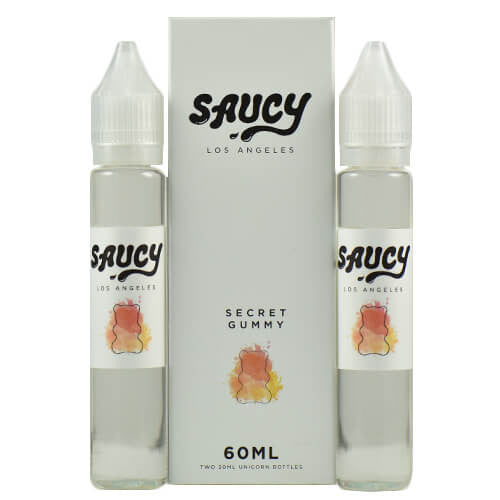 Saucy eLiquid - Secret Gummy - 2x30ml / 0mg