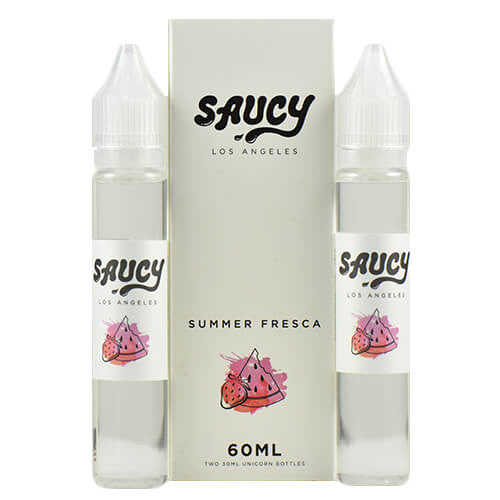 Saucy eLiquid - Summer Fresca - 2x30ml / 6mg
