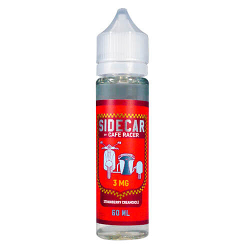 SideCar by Cafe Racer - Strawberry Creamsicle eJuice - 60ml / 0mg