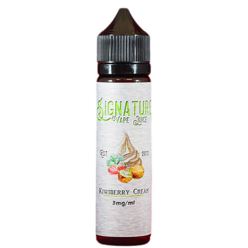 Signature Vape Juice - Kiwiberry Cream - 60ml / 3mg