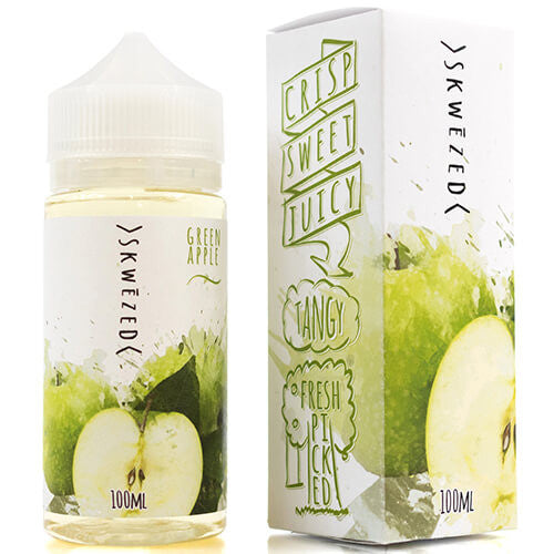 Skwezed eJuice - Green Apple - 100ml / 0mg