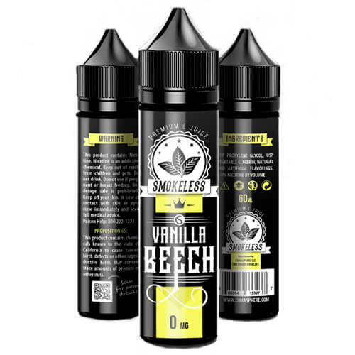 Smokeless E-Liquid - Vanilla Beech - 30ml / 18mg