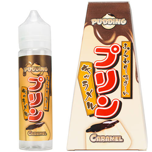 Snaku eLiquids - Caramel Pudding eJuice - 60ml / 3mg