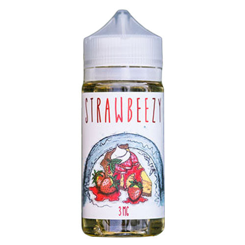 Strawbeezy eJuice - Strawbeezy - 100ml / 3mg