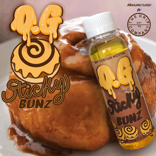 The Drip Company eJuice - OG Sticky Bunz - 60ml / 3mg