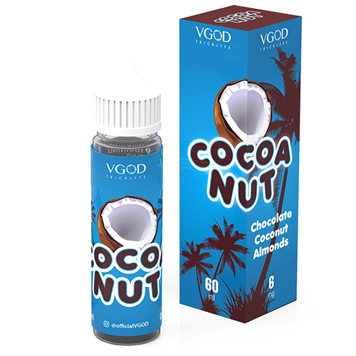 VGOD® Tricklyfe E-Liquid - Cocoa Nut - The Best Place to buy eJuice - eJuices.com