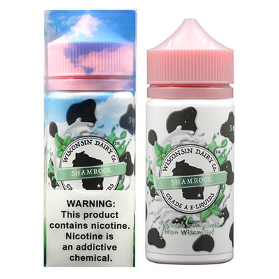 Wisconsin Dairy Co. E-Liquids - Shamrock-eJuice-Wisconsin Dairy Co.-eJuices.com