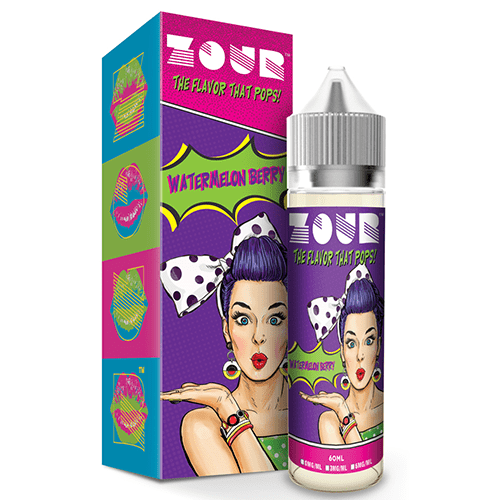 Zour eLiquids - Watermelon Berry - The Best Place to buy eJuice - eJuices.com