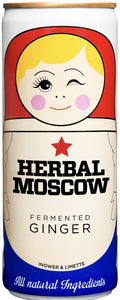 BRAND GARAGE Herbal Moscow Ginger Beer 25 cl VEGAN