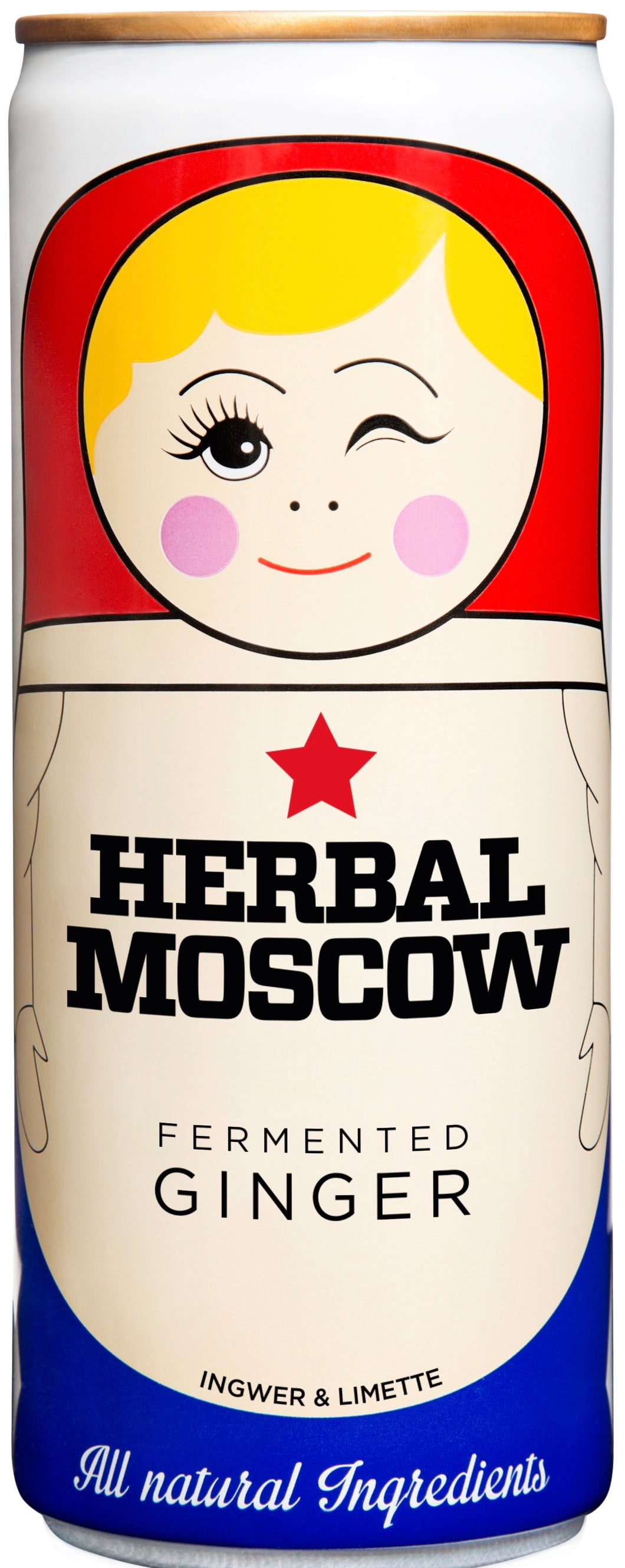 KRAT BRAND GARAGE Herbal Moscow Ginger Beer 24 x 25 cl VEGAN