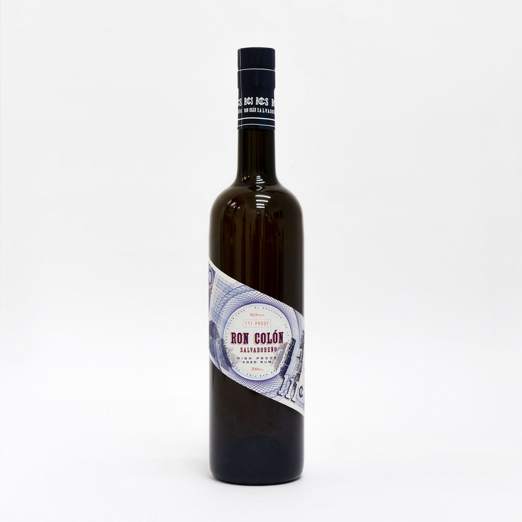 RON COLON High Proof aged rum 70 cl Blue Label