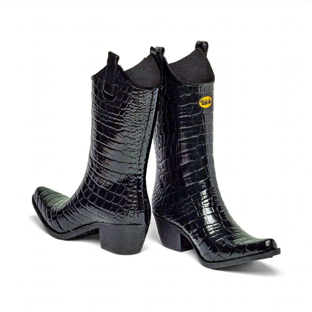 Urban Croc cowboy boot wellies - Talolo Boots