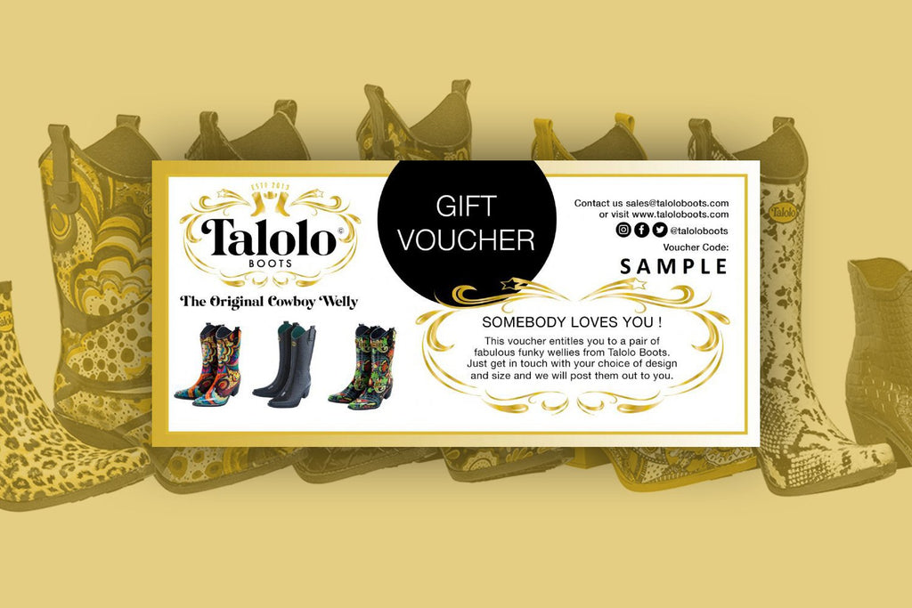 Gift Voucher for 1 x Pair of Talolo Boots - Talolo Boots