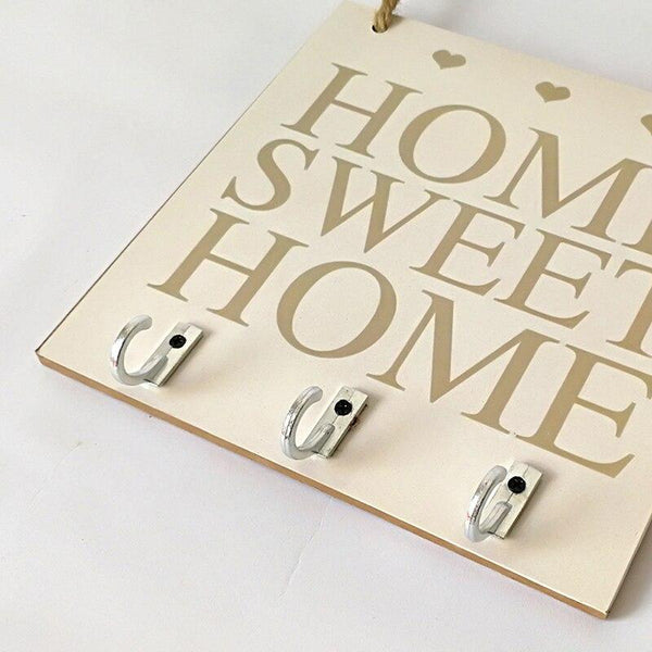 attache Clé Mural Home Sweet Home