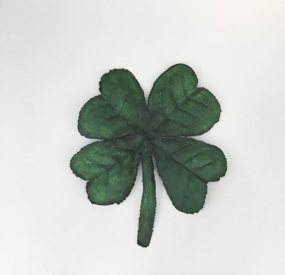 Hand Painted Four Leaf Clover, Small