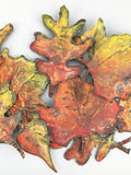Reversible Spring/Fall Leaves Garland I