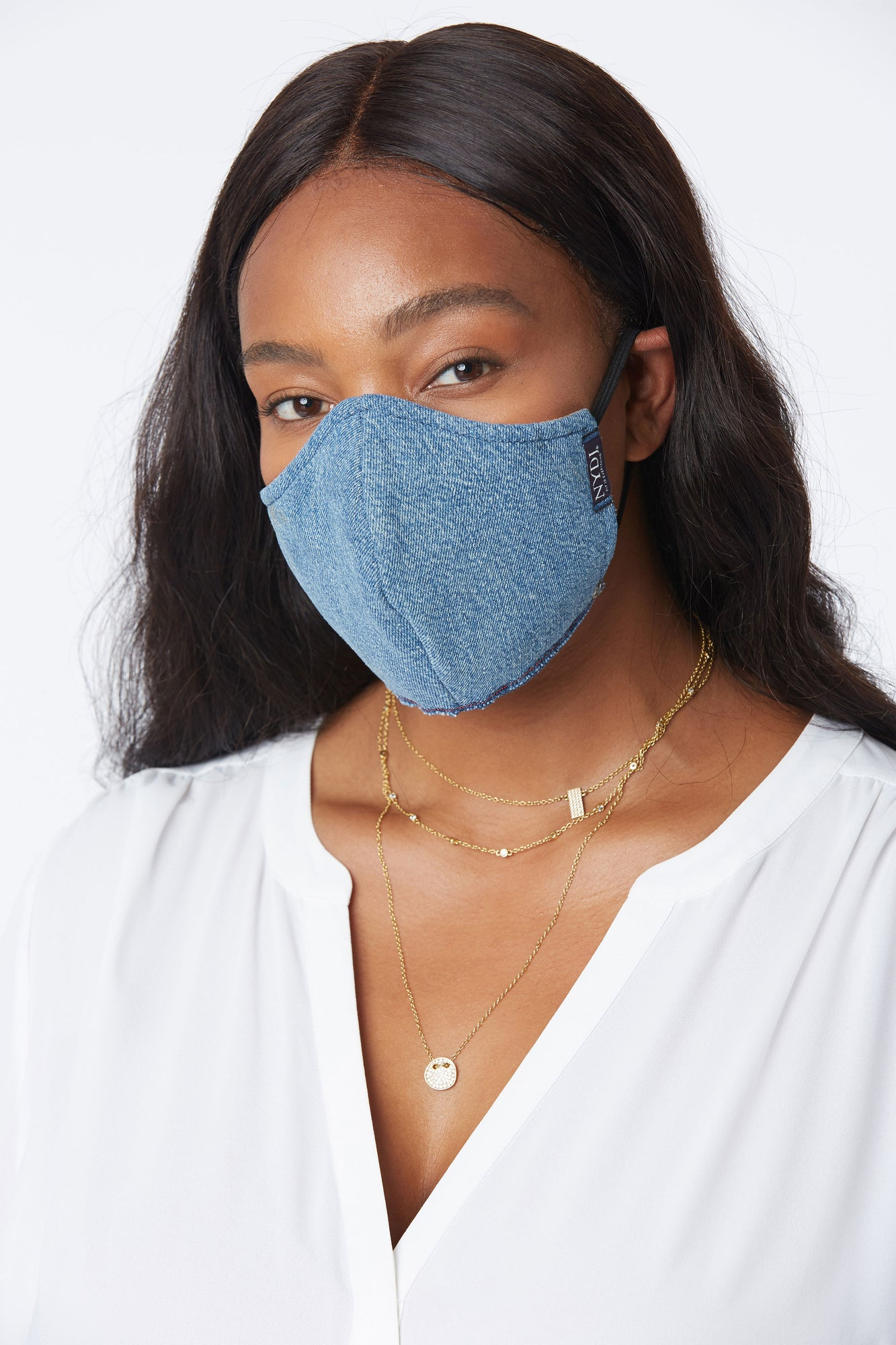 Protective Face Mask - LIGHT INDIGO