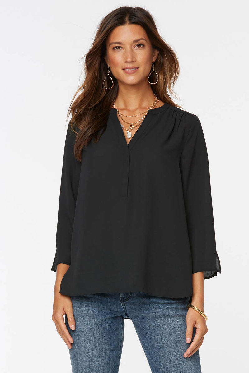 The Perfect Blouse - BLACK