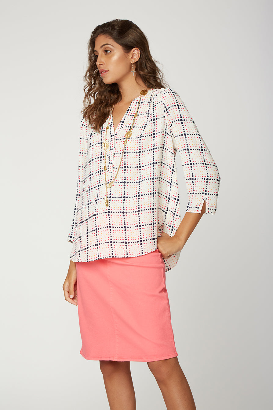 The Perfect Blouse - WESTWOOD WINDOWPANE