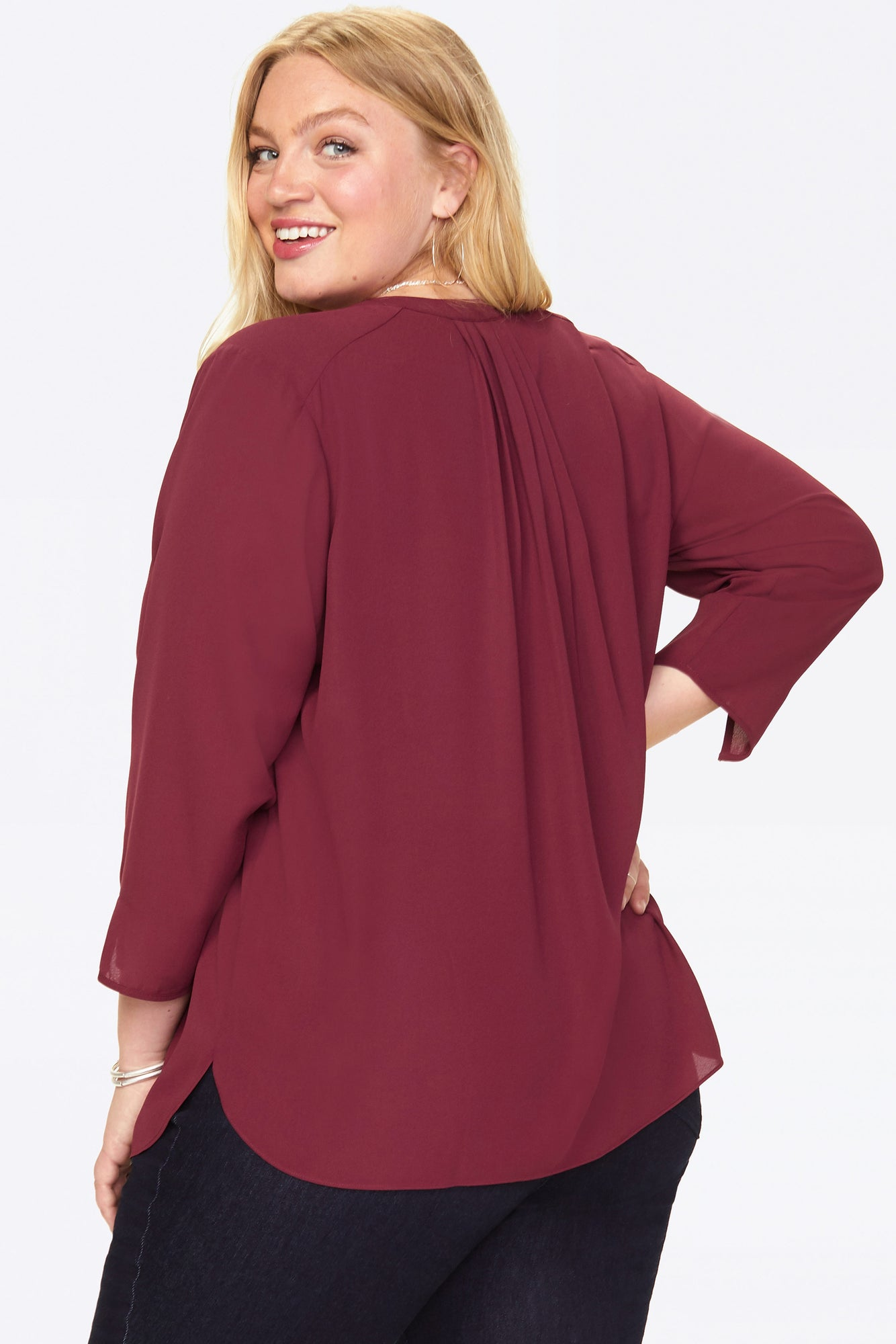 The Perfect Blouse - GRENACHE