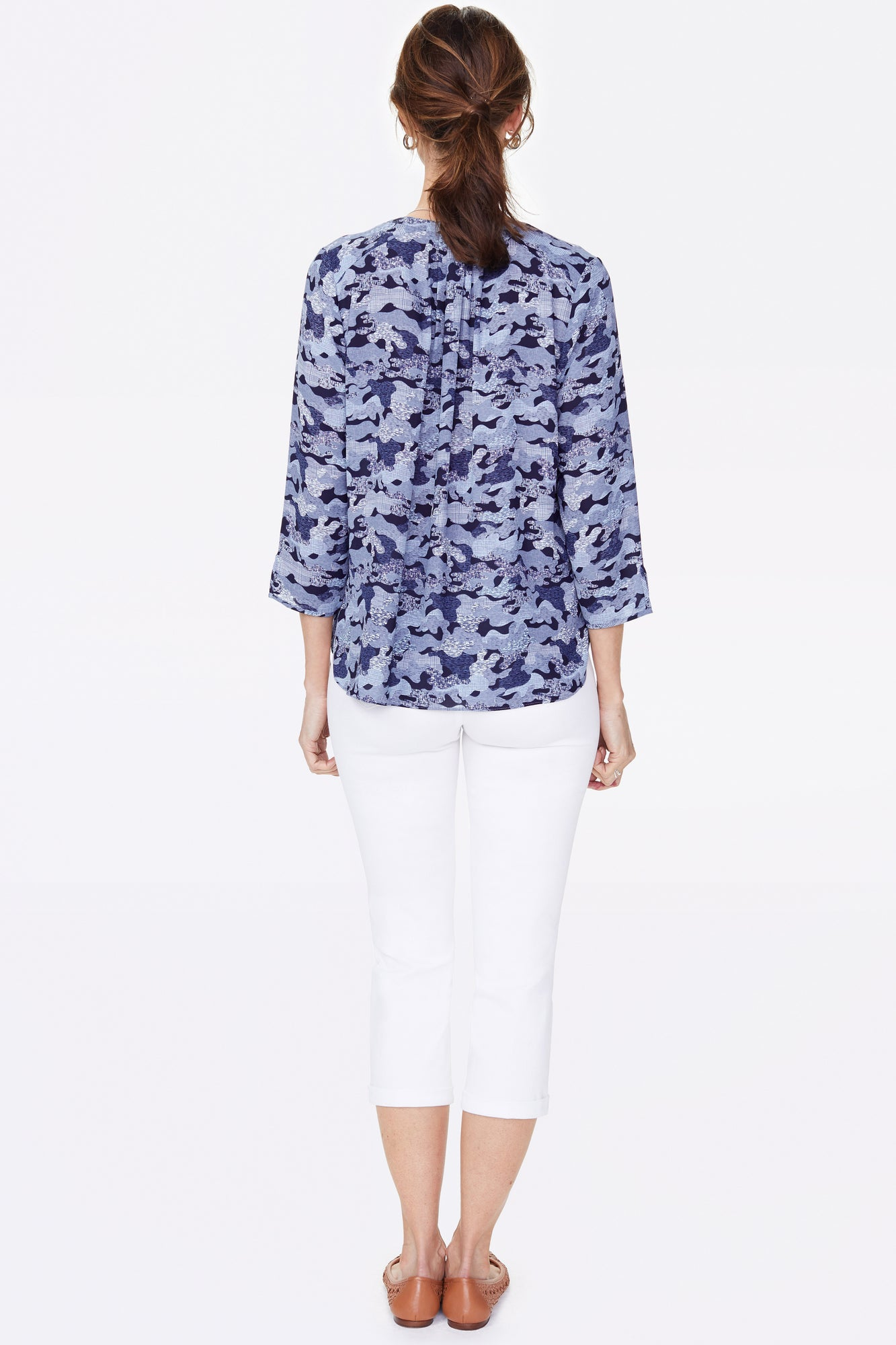 The Perfect Blouse - HAMILTON CAMO