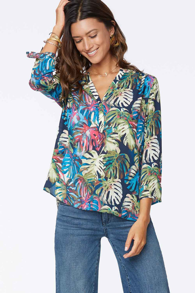 The Perfect Blouse - PALM LAGOON