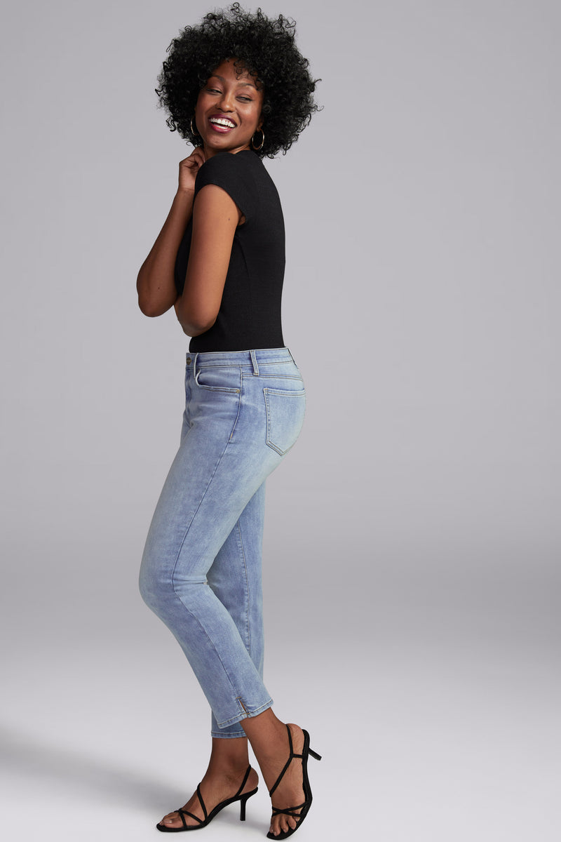 Slim Straight Ankle Jeans - BISCAYNE