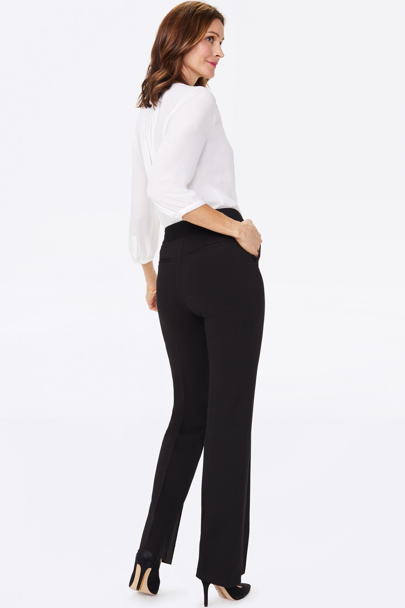 Slim Trouser Pants - BLACK