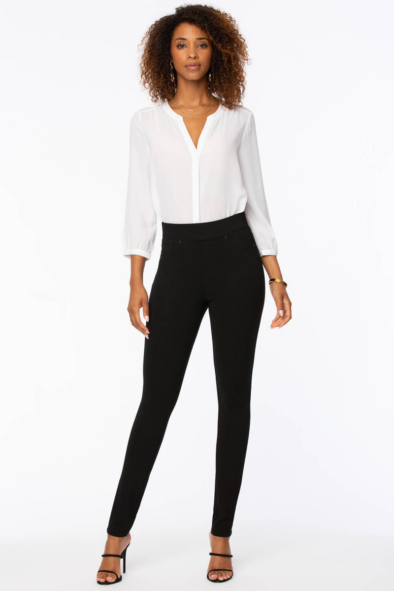 Modern Legging Pants - Jet Black