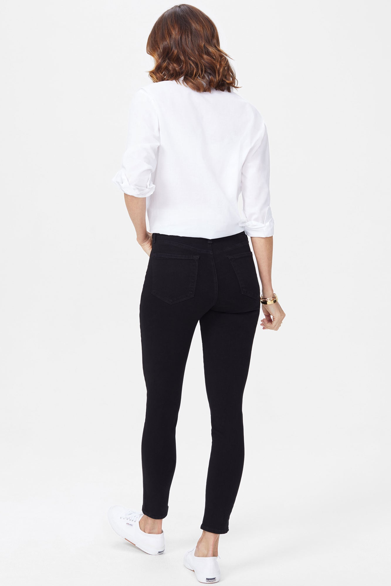 Ami Skinny Jeans In Tall - BLACK