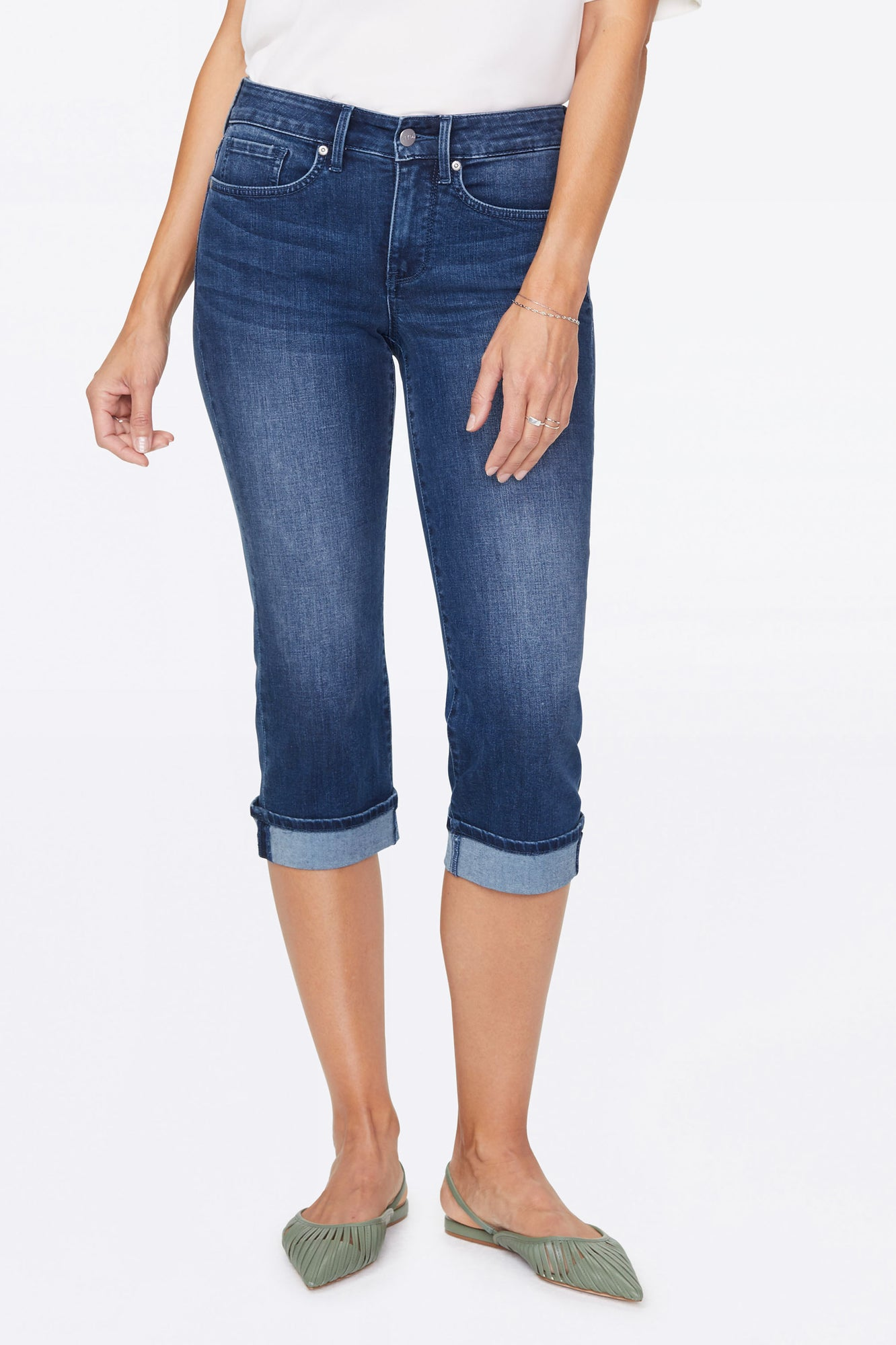 Marilyn Straight Crop Jeans - SOLANA