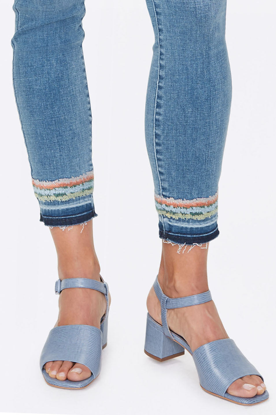 Ami Skinny Ankle Jeans - BRICKELL