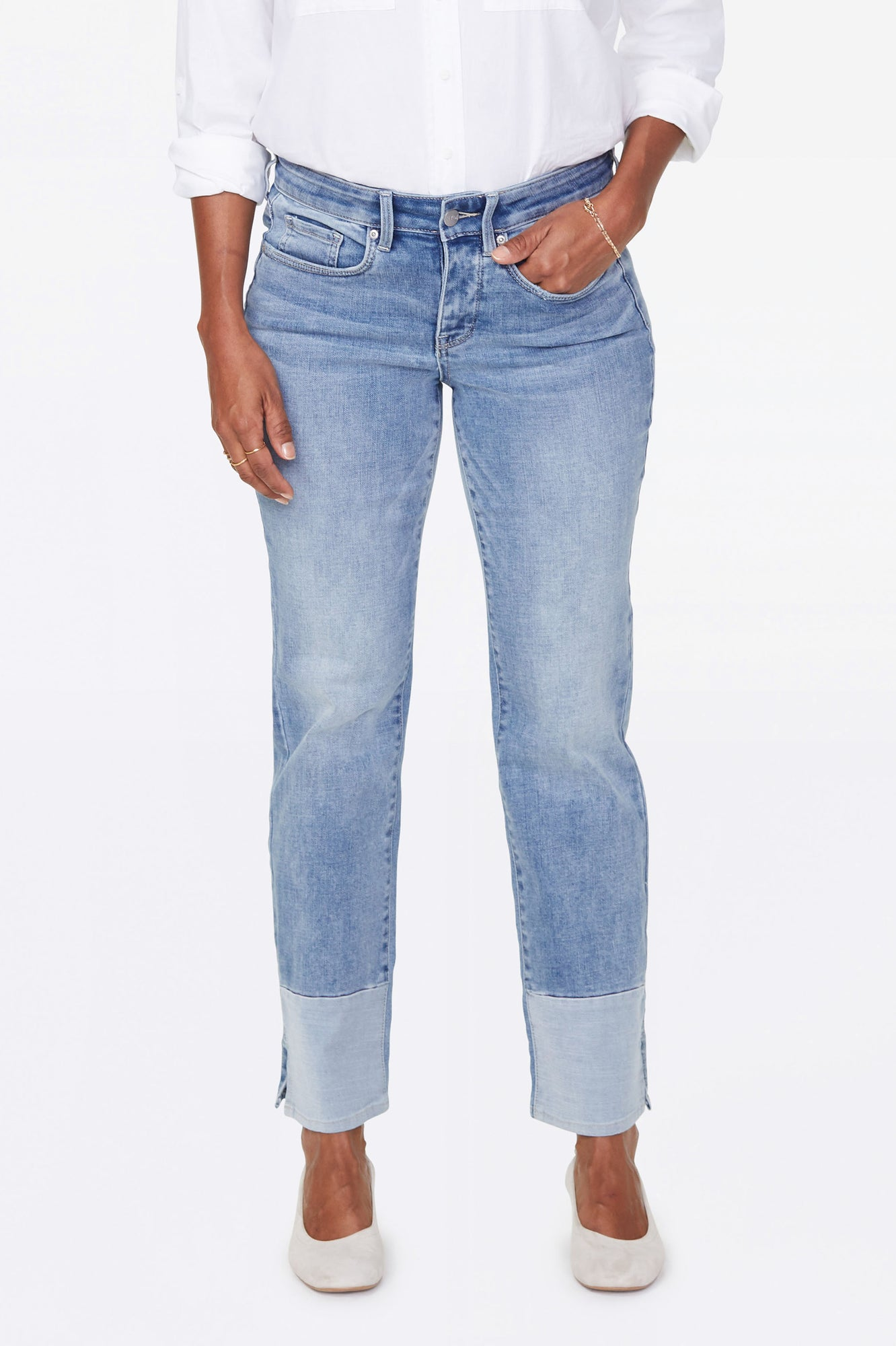 Marilyn Straight Ankle Jeans - COHEED