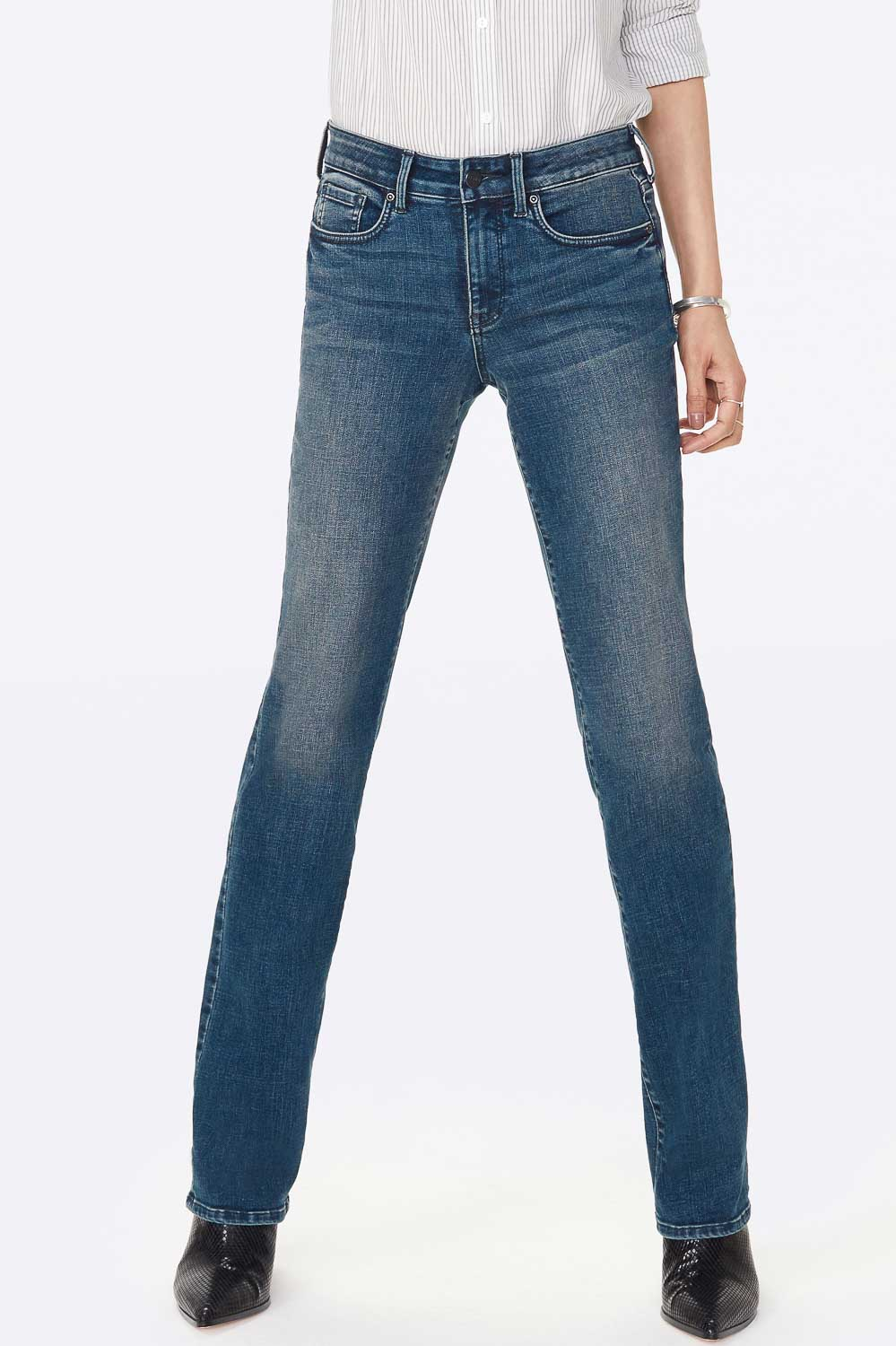 Marilyn Straight Jeans - LOMBARD